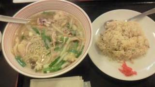辛麺チャンポンセット