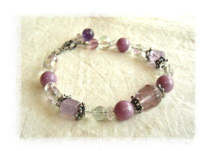 フローライトブレス(紫)