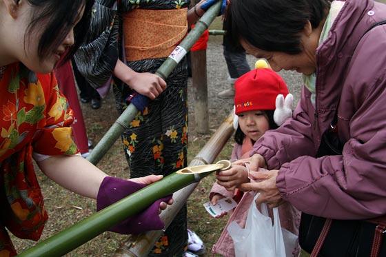 大安寺 笹酒祭り2