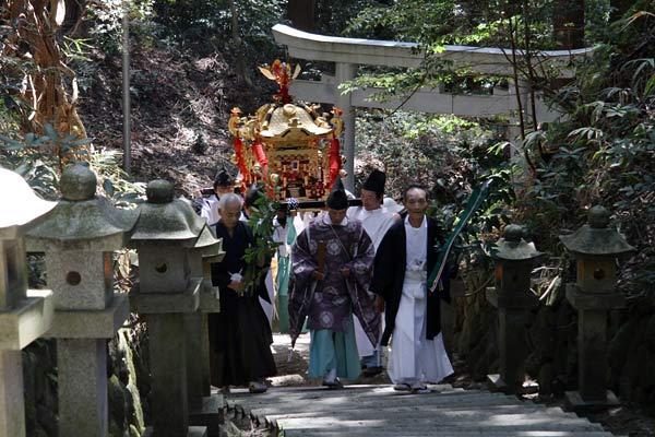 笠山荒神社 春の大祭2