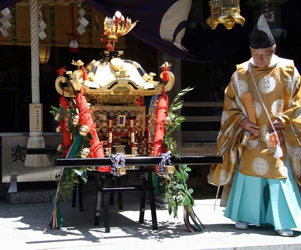 笠山荒神社 春の大祭3