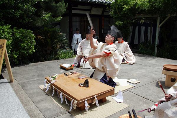 漢国神社 式庖丁2