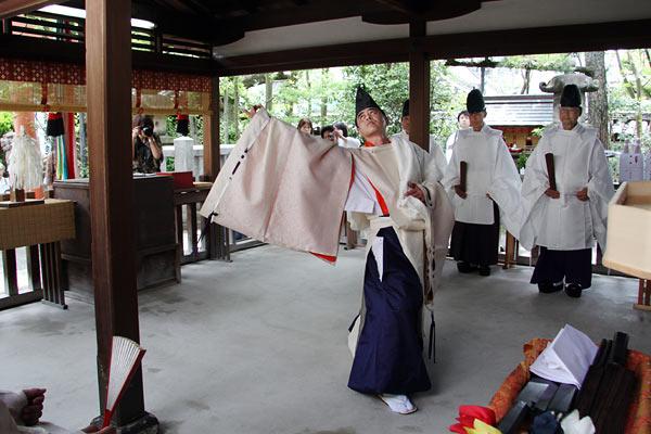 漢国神社 式庖丁5