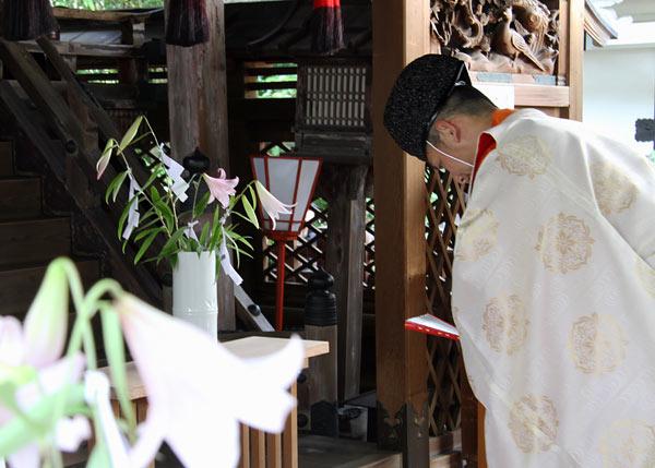 漢国神社 式庖丁6