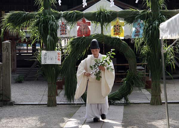 大和神社 夏越の大祓式1