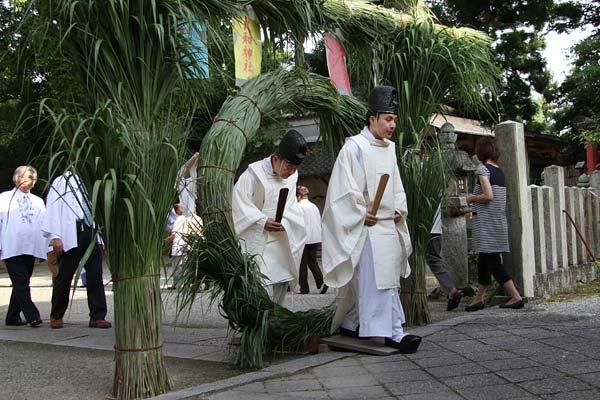 大和神社 夏越の大祓式2