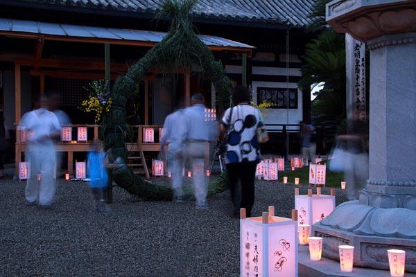 法華寺 蓮華会式2