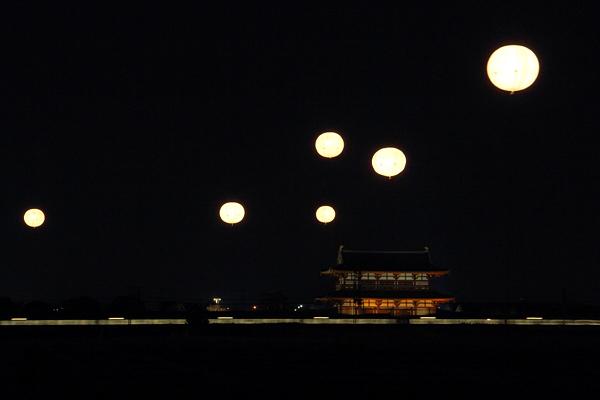 平城宮跡 光と灯り3