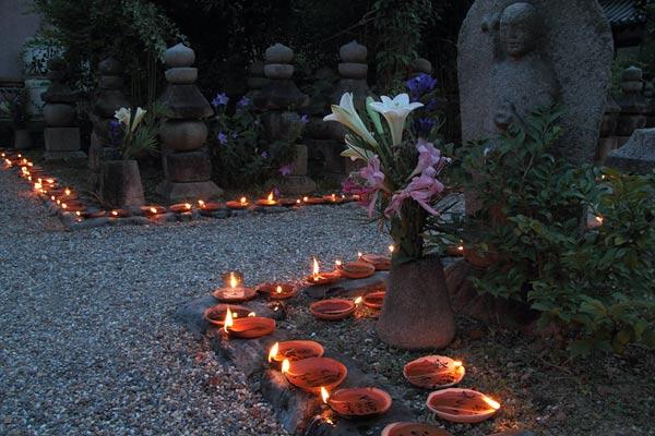 元興寺 地蔵会万燈供養3