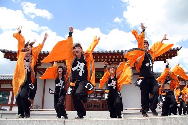 バサラ祭り 薬師寺5