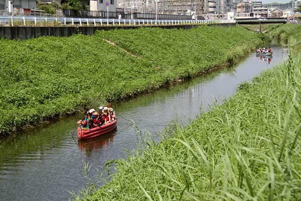 秋篠川 舟下り2