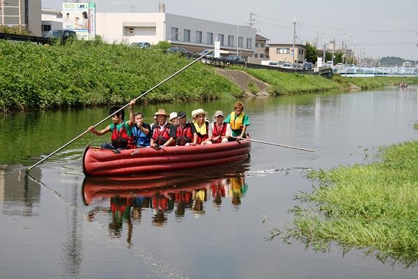 秋篠川 舟下り3