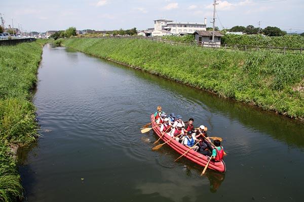 秋篠川 舟下り4