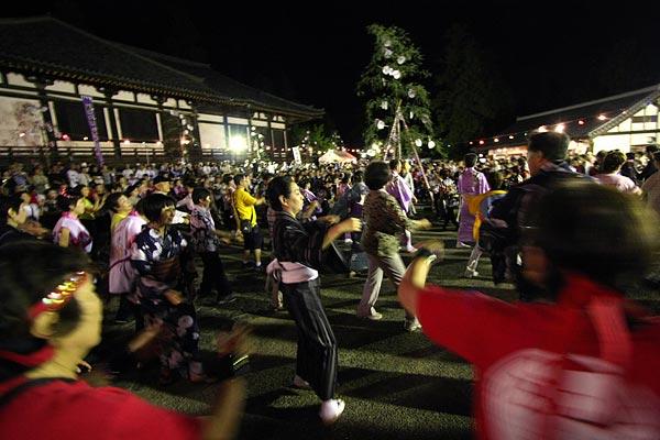 東大寺 十七夜盆踊り4
