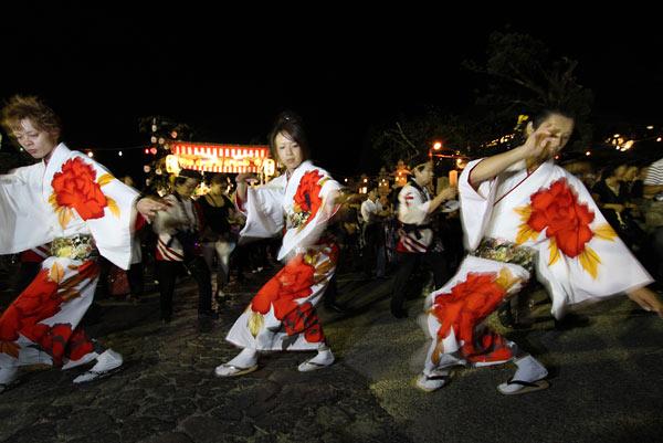 東大寺 十七夜盆踊り5