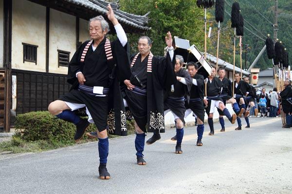 宇太水分神社 秋祭り1