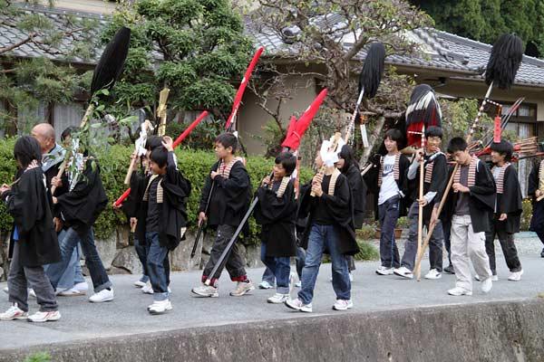 宇太水分神社 秋祭り1-4