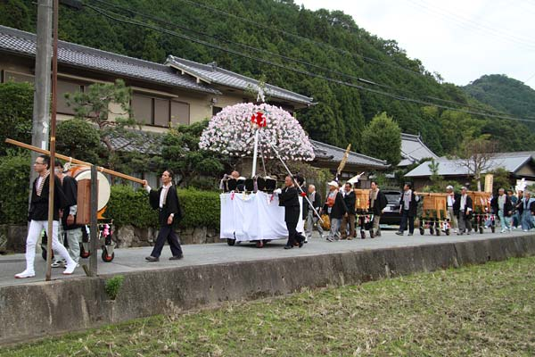 宇太水分神社 秋祭り1-5