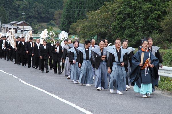 宇太水分神社 秋祭り3