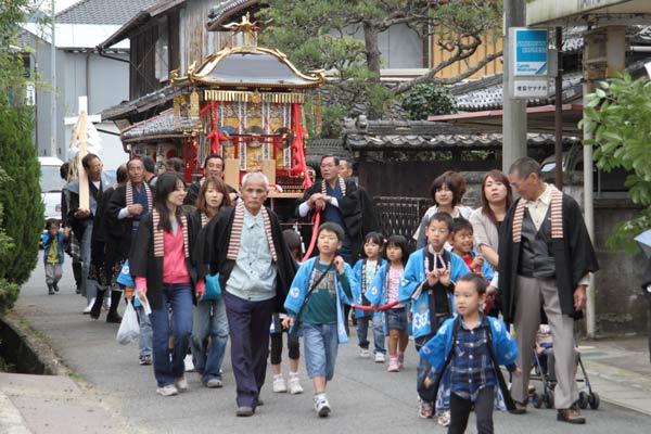 宇太水分神社 秋祭り5