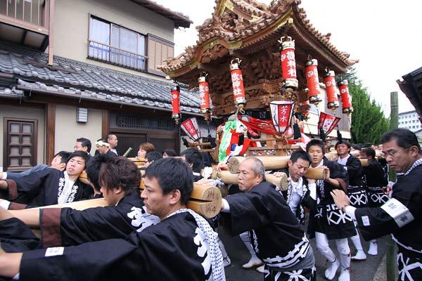 宇太水分神社 秋祭り2-1