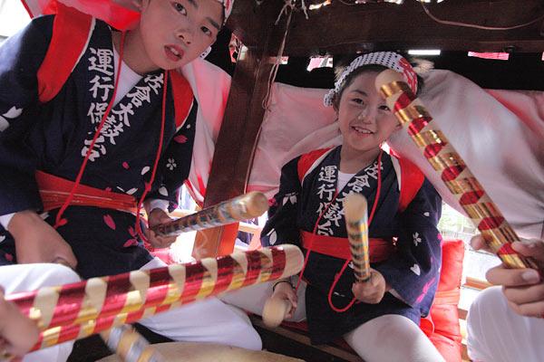 宇太水分神社 秋祭り2-2