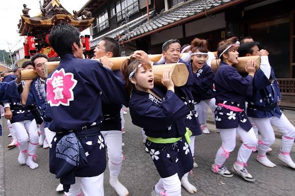 宇太水分神社 秋祭り2-3