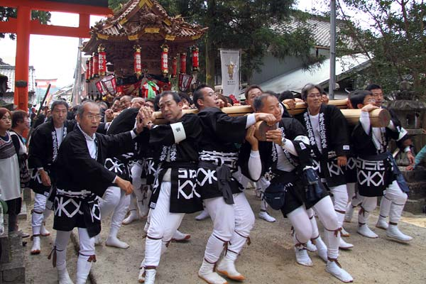 宇太水分神社 秋祭り2-4