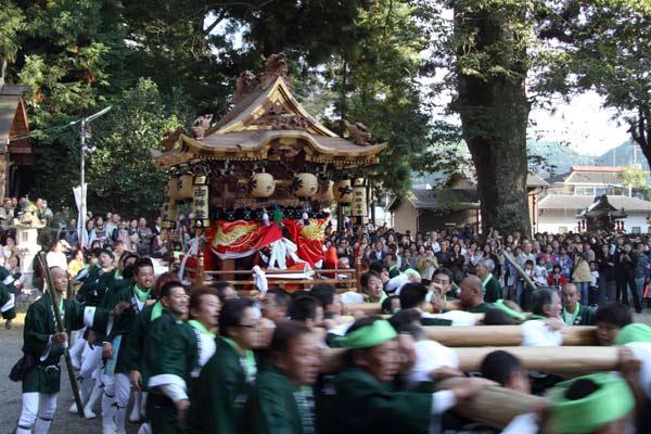 宇太水分神社 秋祭り2-6