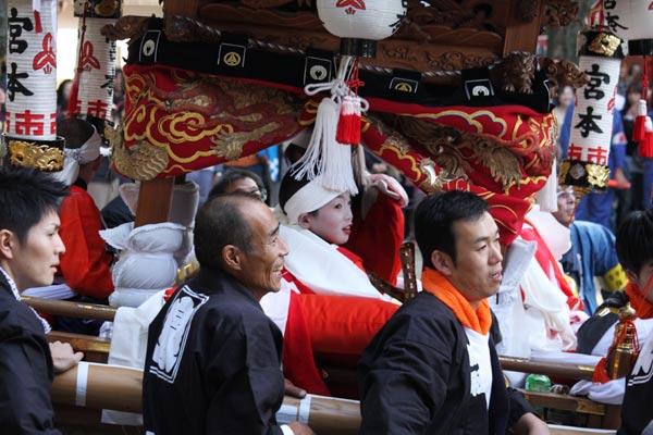 宇太水分神社 秋祭り2-8