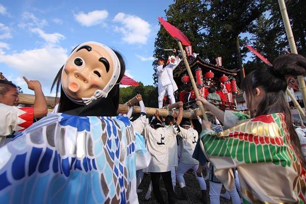 墨坂神社 秋祭り5