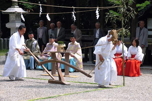 往馬大社 御田植祭1