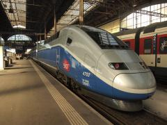 TGV am Zuerich HB