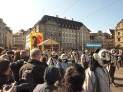 Anfang der Parade