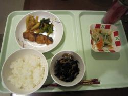 22日夕食