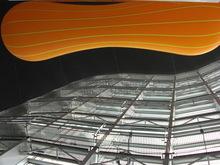 新国立美術館の天井