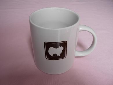 ポメラニアンのマグカップ