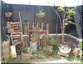 お庭のお仕事1
