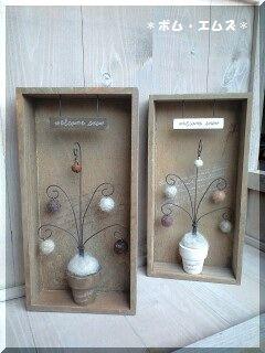 ワイヤーと木工小物6