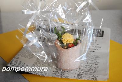 お花ありがとう♪