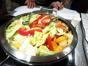 蒸し野菜20130315