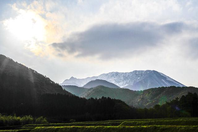 大山レーク 大野池 紅葉