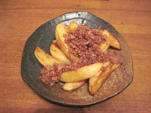 ポテト&肉味噌
