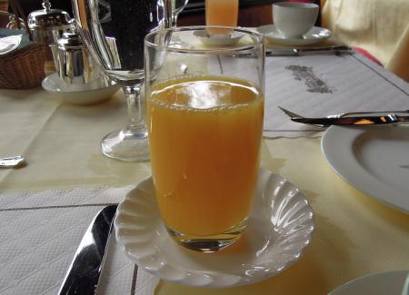 万平朝食ジュース