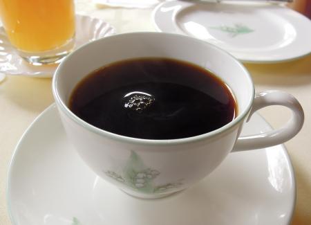 万平朝食コーヒー