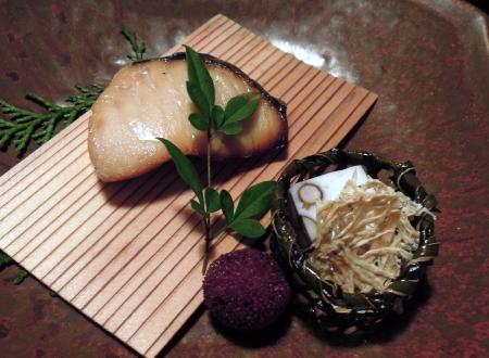 白梅焼き魚