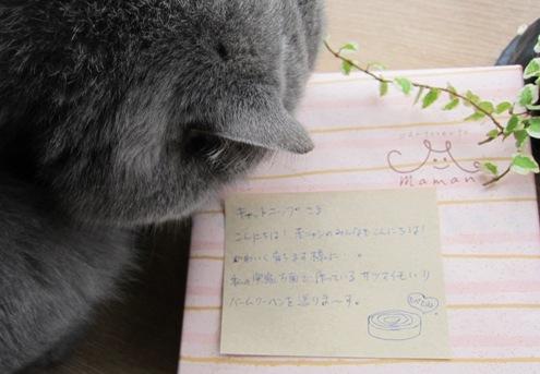 11)お手紙ありがとですよ