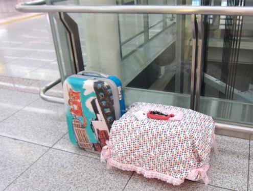 1)朝6時50分の京都駅