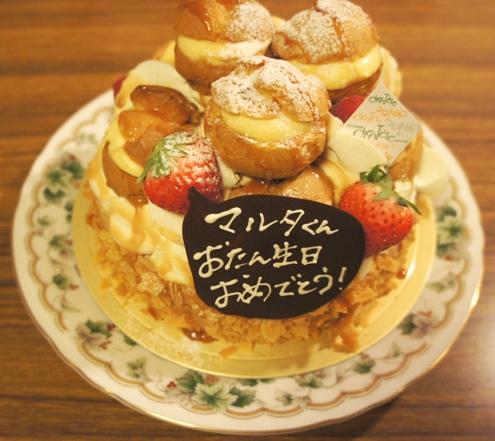 21)バースデーケーキ