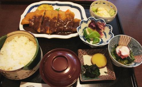 9)定食ビフカツ